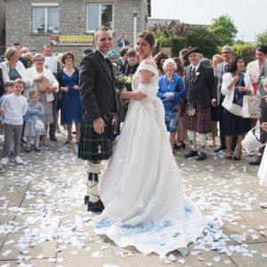 un mariage écossais