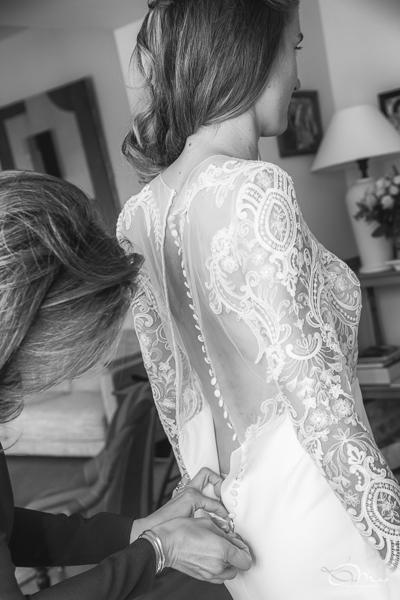 Mariage, préparatifs de la mariés